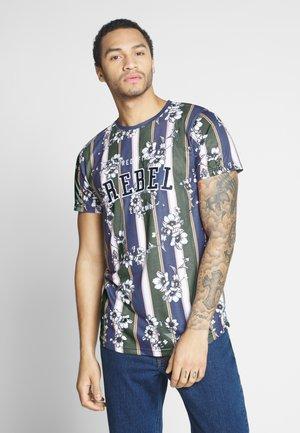UNISEX ROMEO TEE - T-shirt con stampa - blue depths