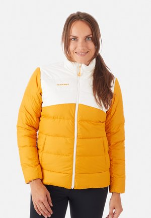 WHITEHORN - Down jacket - golden-bright white