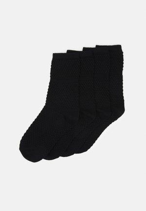 SOCKS 4 PACK - Ponožky - schwarz