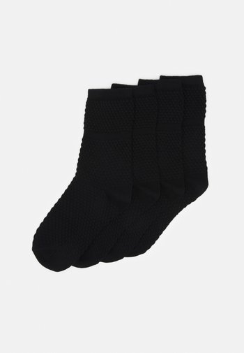 SOCKS 4 PACK - Socks - schwarz