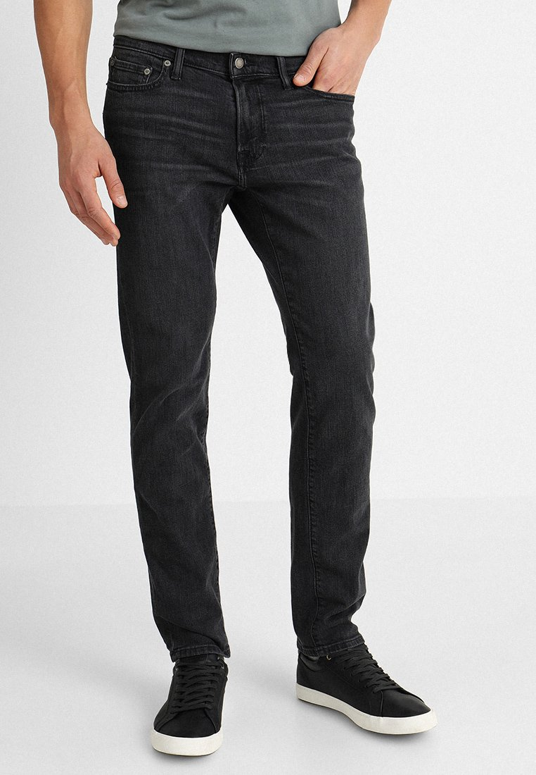 Abercrombie & Fitch - Slim fit jeans - grey