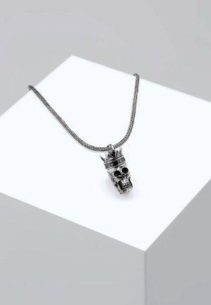 TOTENKOPF - Halskette - silver-coloured