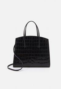 Little Liffner - MINIMAL MINI TOTE - Handbag - black - 1