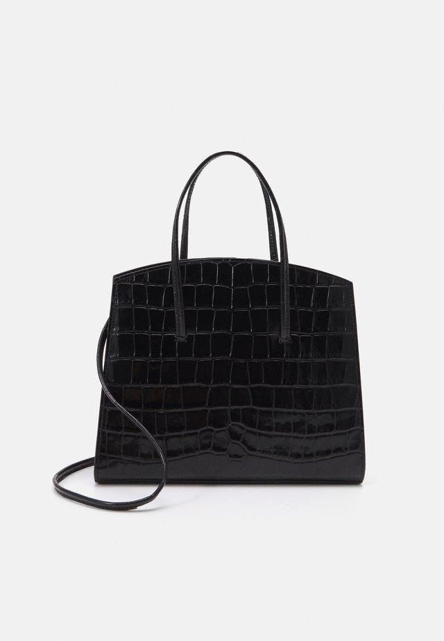 MINIMAL MINI TOTE - Handtasche - black