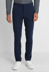 Lindbergh - PLAIN MENS SUIT - Traje - dark blue - 4
