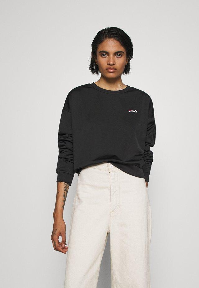 TALLIS CREW - Sweatshirt - black