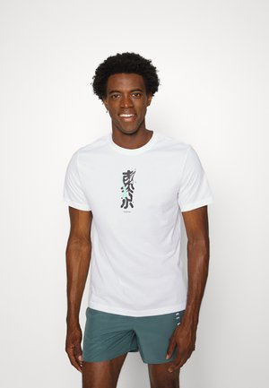 DRY TEE TOKYO - T-shirt con stampa - white