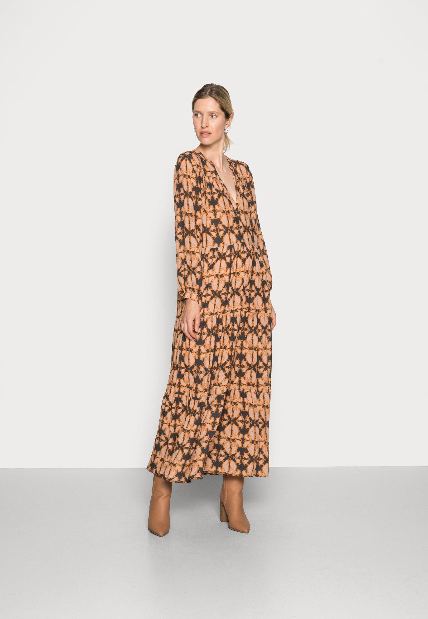 Damen JULIA BATIK DRESS - Maxikleid