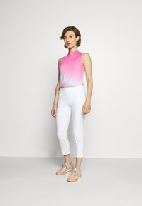 adidas Golf - AEROREADY GRADIENT SLEEVELESS  - Sports shirt - screaming pink - 1