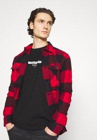 Redefined Rebel - GUTI TEE - Long sleeved top - black - 4