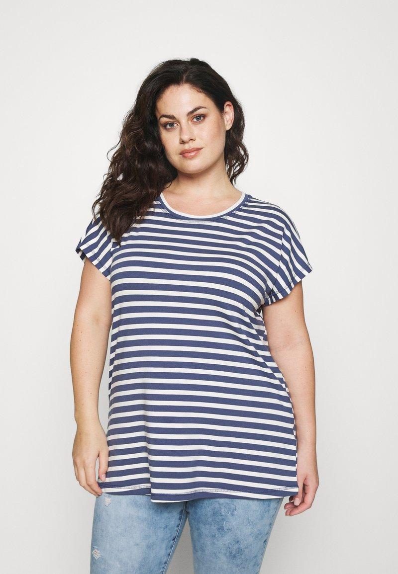 Zizzi - VDORIT  - Basic T-shirt - twilight blue
