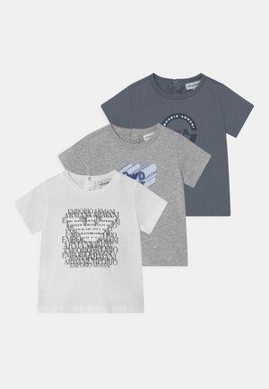 3 PACK UNISEX - Print T-shirt - multi-coloured