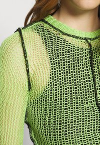 The Ragged Priest - LIME SHEER BLACK SEAMS - Jumper - lime - 6