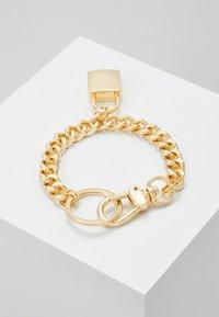 Urban Classics - PADLOCK BRACELET - Bracciale - gold-coloured - 2