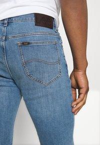 Lee - RIDER - Slim fit jeans - light used - 3
