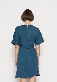 Closet - CLOSET WRAP KIMONO DRESS - Cocktail dress / Party dress - teal - 2