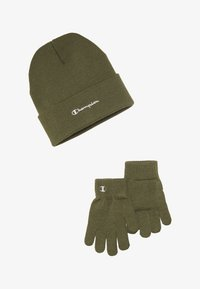 Champion - BEANIE GLOVES SET  - Hansker - olive - 3