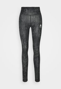 ODLO - TIGHTS ZEROWEIGHT PRINT - Tights - black - 3