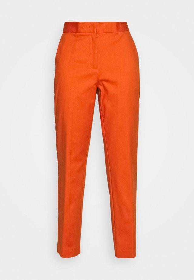 SLUB ANKLE PANT - Kalhoty - tucson orange