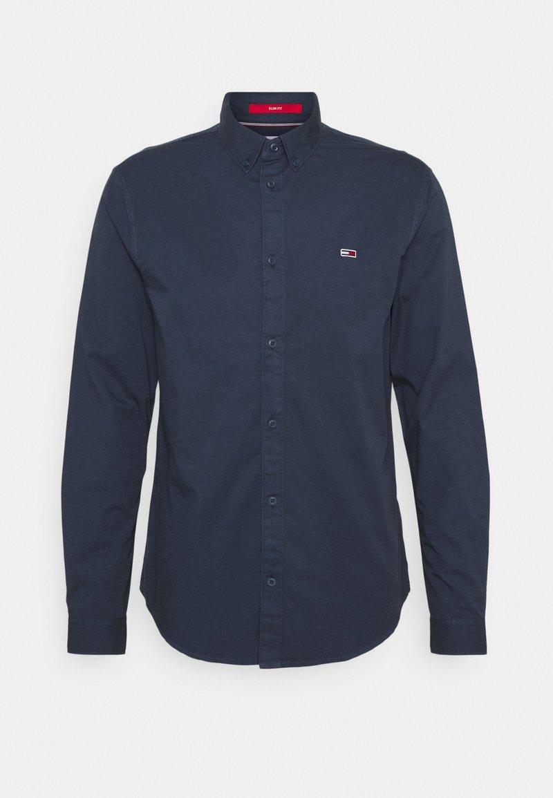 Tommy Jeans - LIGHTWEIGHT TWILL SHIRT - Skjorta - blue