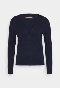 BASIC V-NECK CARDIGAN - Cardigan - dark blue