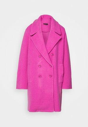 Classic coat - rosa pop