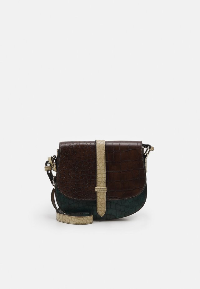 BERLY - Borsa a tracolla - brown kombi