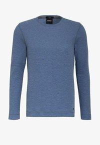 BOSS CASUAL - Long sleeved top - medium blue - 2