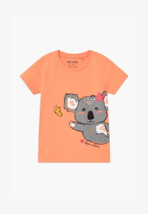 SMALL GIRLS KOALA - Triko s potiskem - flamingo
