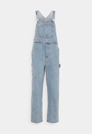 CIARA DUNGAREES - Snekkerbukse - blue medium dusty