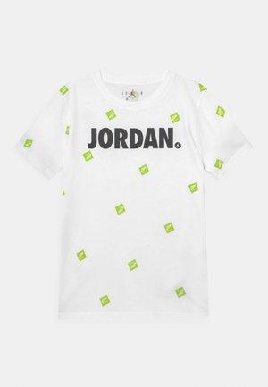 POST IT UP UNISEX - Print T-shirt - white
