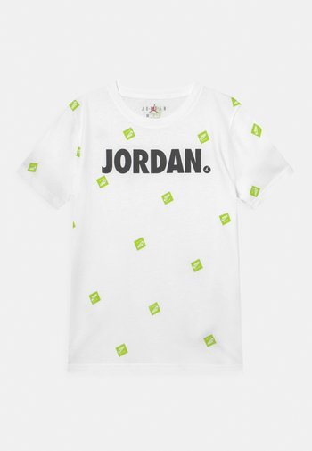 POST IT UP UNISEX - T-shirt con stampa - white