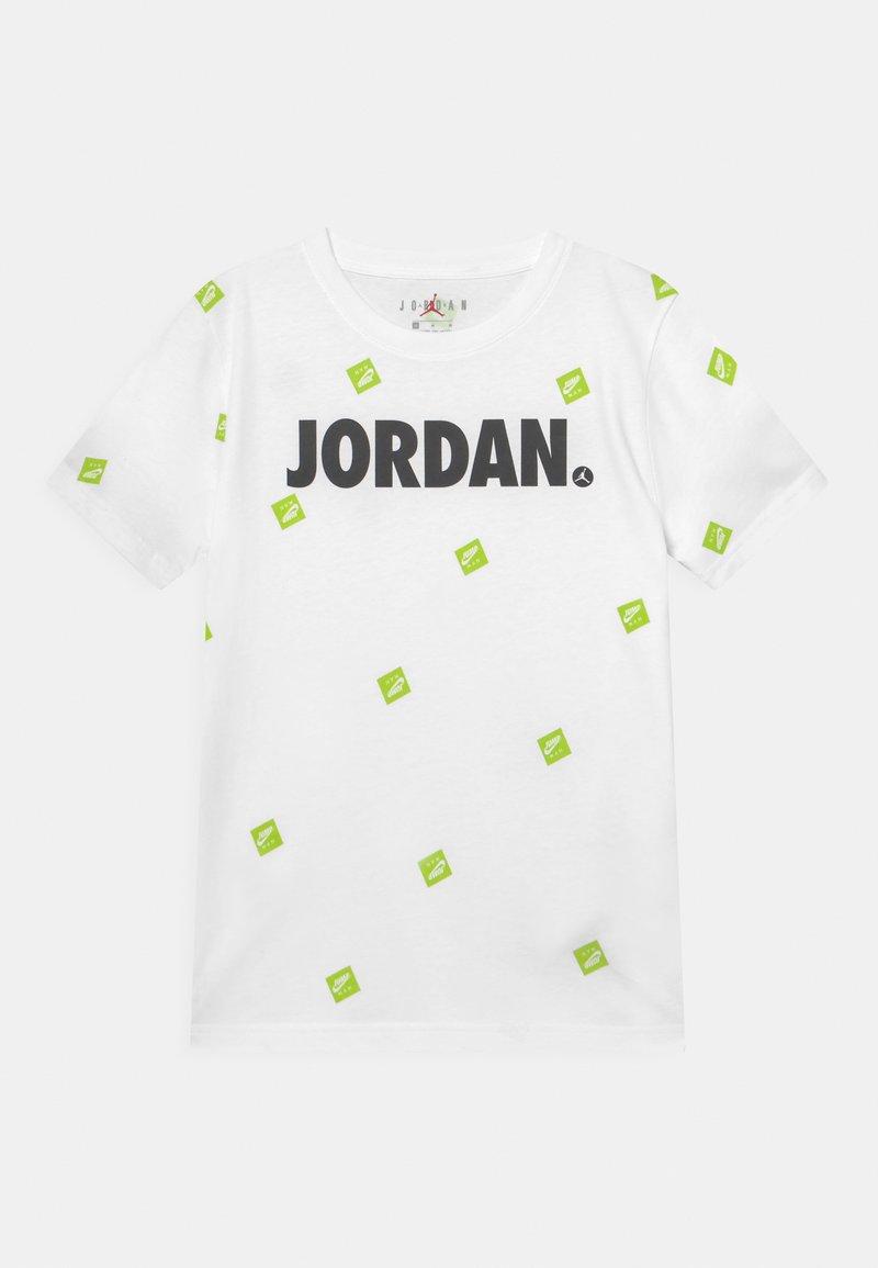 Jordan - POST IT UP UNISEX - Triko spotiskem - white