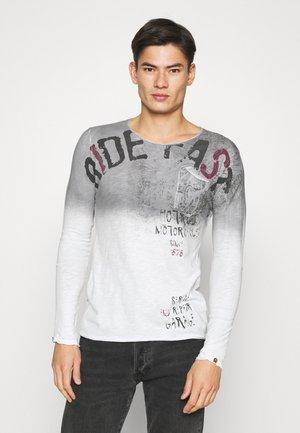 FURIOUS ROUND - Maglietta a manica lunga - silver