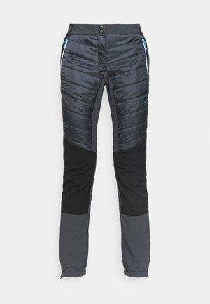 WOMAN PANT - Outdoorové kalhoty - titanio