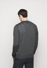 NN07 - TED - Jumper - antractite grey mel - 2