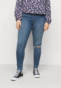 New Look Curves - LIFT AND SHAPE - Jeans Skinny Fit - mid blue - 0