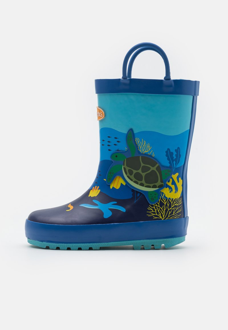 Chipmunks - OCEAN UNISEX - Gummistövlar - blue