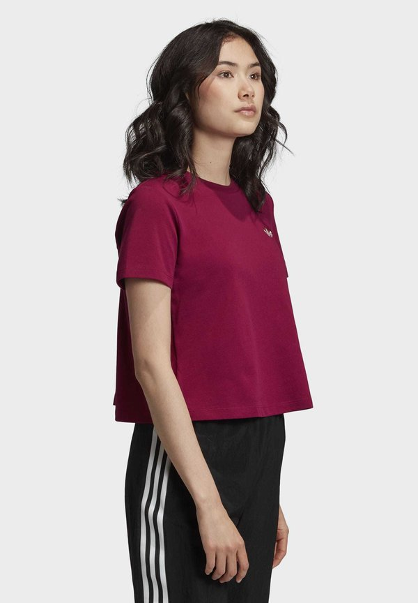 adidas Originals T-shirt basic - purple Odzież Damska UHAG UT 8
