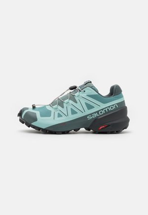 SPEEDCROSS 5 - Trail running shoes - trellis/stormy weather/phantom