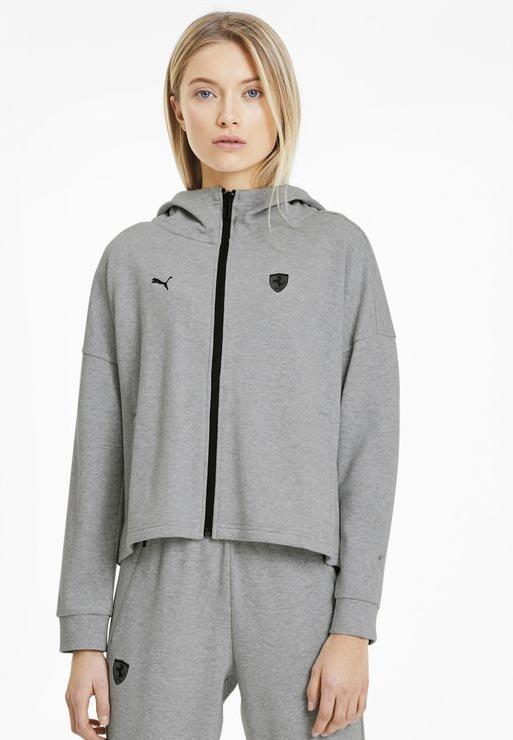 Zip-up hoodie - light gray heather