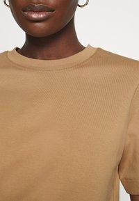 ARKET - Jednoduché triko - beige - 4