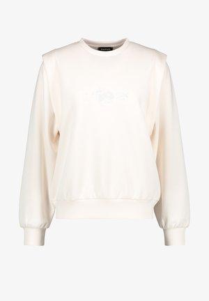 RUNDHALS  MIT SCHULTERBETONUNGRUNDHALS  - Sweater - offwhite