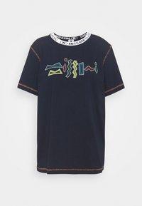 M Missoni - Print T-shirt - dark blue - 5