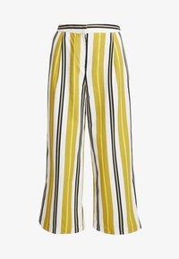 Monki - MALINKA TROUSERS - Kalhoty - yellow medium/sporty mustard - 4