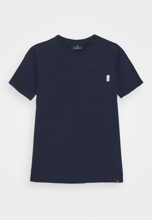 CHEST POCKET - Print T-shirt - night
