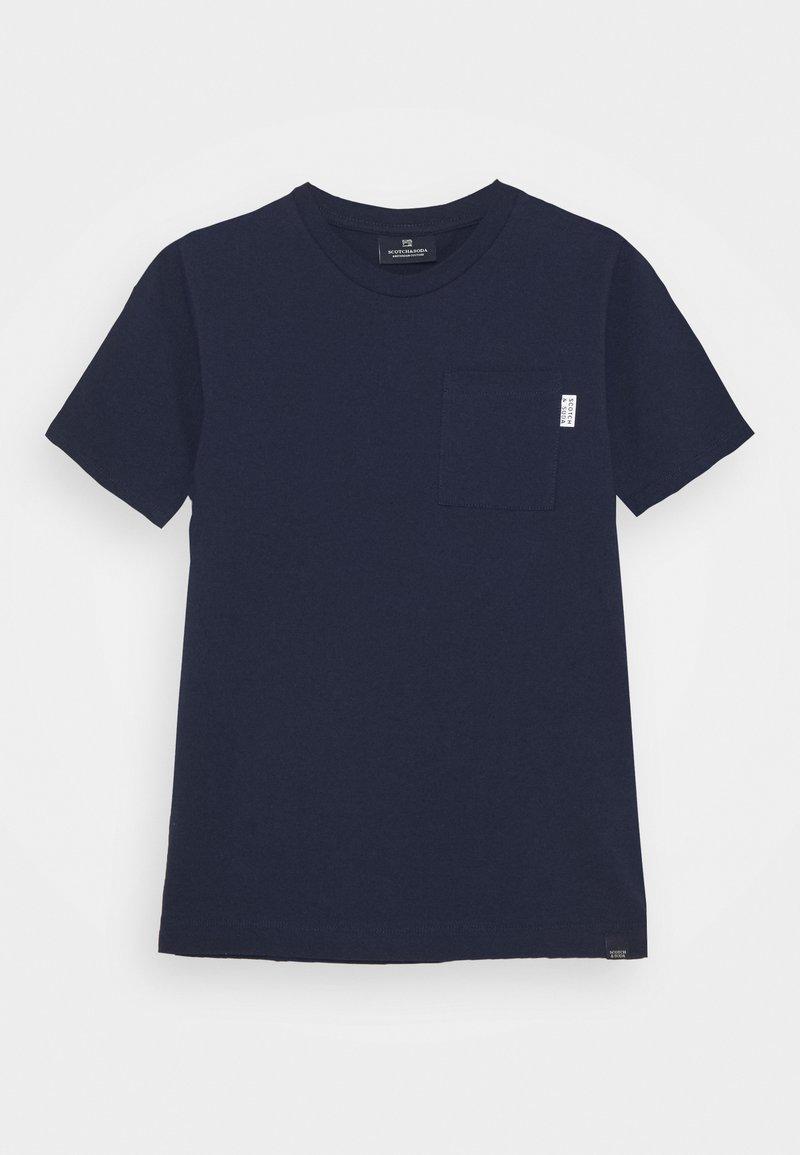 Scotch & Soda - CHEST POCKET - Print T-shirt - night