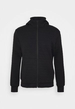 GENTS HOODIE - veste en sweat zippée - black