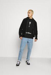 274 - SKULL ROSE TEE - Print T-shirt - black - 1