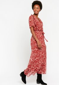 LolaLiza - WITH FLOWER PRINT - Maxi dress - red - 1